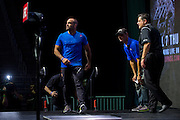 LAS VEGAS, NV - JULY 6:  Eddie Alvarez walks to the scale during the UFC Fight Night weigh-ins at T-Mobile Arena on July 6, 2016 in Las Vegas, Nevada. (Photo by Cooper Neill/Zuffa LLC/Zuffa LLC via Getty Images) *** Local Caption *** Eddie Alvarez