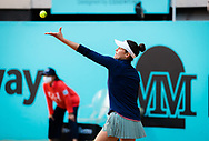 Jennifer Brady of the United States in action during the third round at the Mutua Madrid Open 2021, Masters 1000 tennis tournament on May 4, 2021 at La Caja Magica in Madrid, Spain - Photo Rob Prange / Spain ProSportsImages / DPPI / ProSportsImages / DPPI