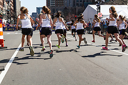 Boston Marathon: BAA 5K road race, Girls 1000 meter road race