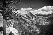 Half Dome from Yosemite Point, Yosemite National Park, California USA
