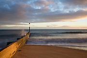 Sunset on Bournemouth Beach