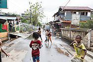 Manado, North Sulawesi, Indonesia; January 2014. In January 2014 there were severe floods in the city of Manado on the Indonesian island of North Sulawesi: the water level reached over 2 meters in parts of the city, especially near Tondano River. <br /> The river turned into a health hazard since all sort of objects, rubbish, plastic, sewage and, in fact, entire houses ended up in there and in the sea afterwards which created a very alarming situation.  © Chiara Marina Grioni