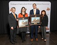Cortney Cowley, Travis Bradshaw, Early Career Achievement Award, Seniors of Distinction