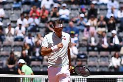 May 16, 2019 - Roma, Italia - Foto Alfredo Falcone - LaPresse.16/05/2019 Roma ( Italia).Sport Tennis.Internazionali BNL d'Italia 2019.Roger Federer (sui) vs Joao Sousa (por).Nella foto:Roger Federer..Photo Alfredo Falcone - LaPresse.16/05/2019 Roma (Italy).Sport Tennis.Internazionali BNL d'Italia 2019.Roger Federer (sui) vs Joao Sousa (por).In the pic:Roger Federer (Credit Image: © Alfredo Falcone/Lapresse via ZUMA Press)