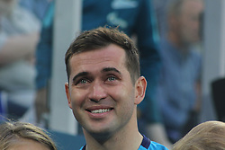 August 6, 2017 - Saint-Petersburg, Russia - Of The Russian Federation. Saint-Petersburg. Zenit-arena. Arena Saint-Petersburg. Alexander Kerzhakov. Farewell ceremony with the legend of Russian national team and the football club ''Zenit'' Alexander Kerzhakov. Ceremony Honoring Alexander Kerzhakov. (Credit Image: © Russian Look via ZUMA Wire)