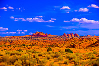 The Teepees, Paria Canyon Vermillion Cliffs Wilderness, Utah USA