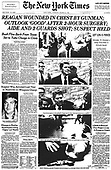 March 30, 2021 (DC): 30th March 1981 - President Ronald Reagan Shot
