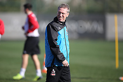 24.01.2014, Maxx Royal, Belek, TUR, FS Vorbereitung, 1. FC Koeln, Trainingslager, im Bild Trainer Peter Stoeger (1 FC Koeln) gut gelaunt am Lachen // during a practice session at the training camp of the German 2nd Bundesliga Club 1. FC Koeln at the Maxx Royal in Belek, Turkey on 2014/01/24. EXPA Pictures © 2014, PhotoCredit: EXPA/ Eibner-Pressefoto/ Schueler<br /> <br /> *****ATTENTION - OUT of GER*****