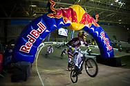 #24 (SHARRAH Corben) USA at the UCI BMX Supercross World Cup in Manchester, UK