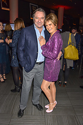 Neil Pearson and Penny Smith at the Costa Book of The Year Award held at  Quaglino's, 16 Bury Street, London, England. 29 January 2019. <br /> <br /> ***For fees please contact us prior to publication***