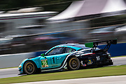 September 4-5, 2020. IMSA Weathertech Road Atlanta 6hr: #16 Wright Motorsports, Porsche 911 GT3 R, Ryan Hardwick, Patrick Long, Jan Heylen