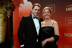 17-12-2013 ALGEMEEN: SPORTGALA NOC NSF 2013: AMSTERDAM<br /> In de Amsterdamse RAI vindt het traditionele NOC NSF Sportgala weer plaats. Op deze avond zullen de sportprijzen voor beste sportman, sportvrouw, gehandicapte sporter, talent, ploeg en trainer worden uitgereikt / Kirsten van der Kolk en Pepijn Aardewijn <br /> ©2013-FotoHoogendoorn.nl