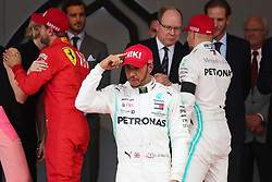 May 26, 2019 - Monte Carlo, Monaco - xa9; Photo4 / LaPresse.26/05/2019 Monte Carlo, Monaco.Sport .Grand Prix Formula One Monaco 2019.In the pic: Lewis Hamilton (GBR) Mercedes AMG F1 W10 (Credit Image: © Photo4/Lapresse via ZUMA Press)