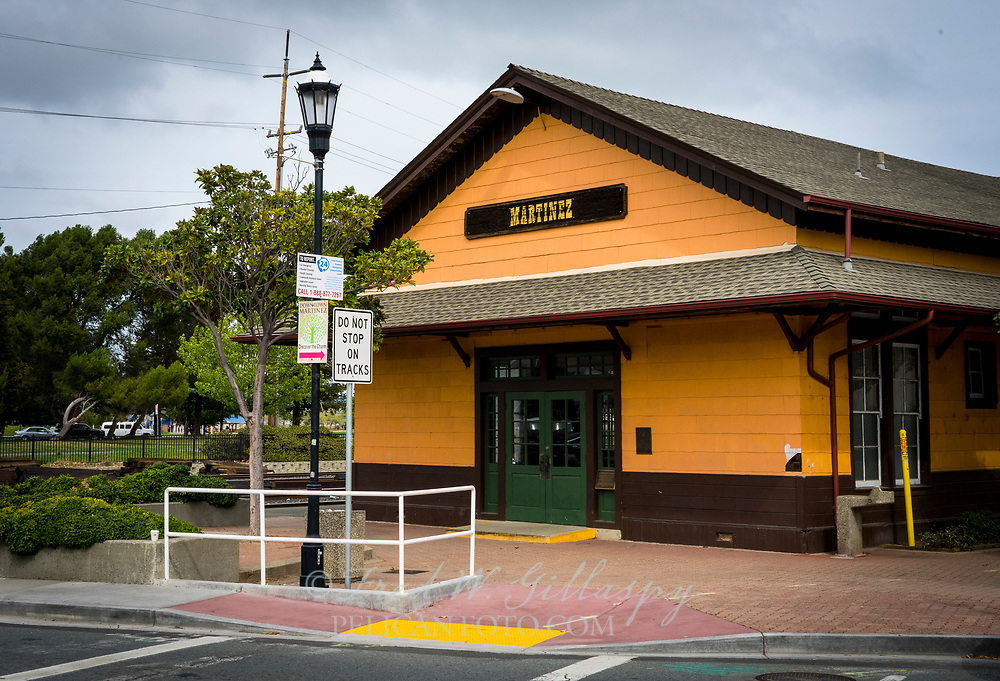 Southern Pacific Depot, Martinez CA