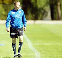 Fotball<br /> La Manga<br /> 31.03.2004<br /> Trening Moss<br /> Foto: Morten Olsen, Digitalsport<br /> <br /> Lars Olof Mattson