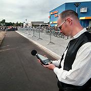 Geluidsmeting avondvierdaagse gemeente Huizen, milieu verordering, geluidsoverlast