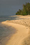 Ke'e beach on the north shore of Kauai, Hawaii.