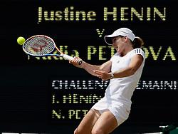 25.06.2010, Wimbledon, GBR, Sony Ericson WTA Tour, Grand Slam, The Championships, Wimbledon, Women's singles, Justine Henin (BEL) vs Nadia Petrova (RUS), im Bild Justine Henin (BEL). EXPA Pictures © 2010, PhotoCredit: EXPA/ IPS/ Marc Atkins / SPORTIDA PHOTO AGENCY