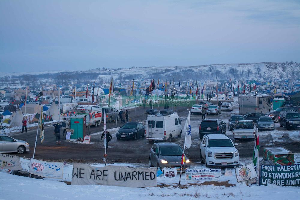 December 3, 2016 - Oceti Sakowin Camp at Standing Rock, ND (Credit Image: © Dimitrios Manis via ZUMA Wire)