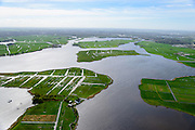 Nederland, Zuid-Holland, Kagerplassen, 09-04-2014;  Kager Plassen gezien naar Leiden en Den Haag met Tuinder- of Kogjespolder. Veenplassen ontstaan door het ontginnen van veen. <br /> Peat Lakes, western part of Holland, caused by the reclaiming of peat.<br /> luchtfoto (toeslag op standaard tarieven);<br /> aerial photo (additional fee required);<br /> copyright foto/photo Siebe Swart.