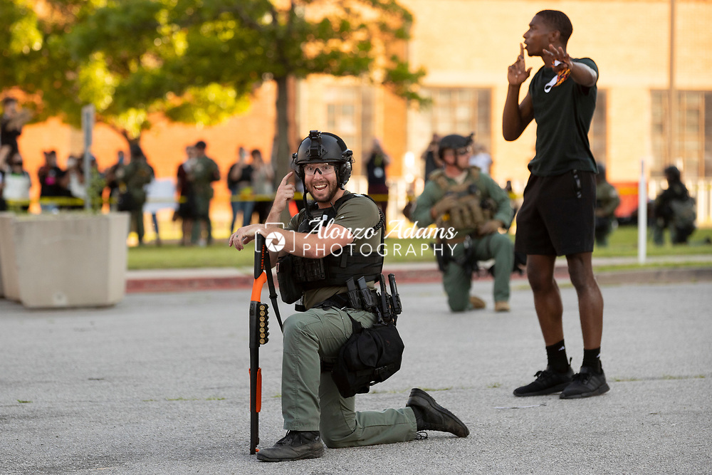 Black Lives Matter protest in Oklahoma City on Sunday, May 31, 2020. Photo copyright © 2020 Alonzo Adams.