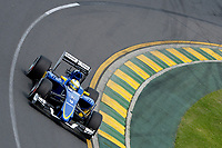 ERICSSON marcus (swe) sauber f1 c34 action during 2015 Formula 1 championship at Melbourne, Australia Grand Prix, from March 13th to 15th. Photo DPPI / Eric Vargiolu.