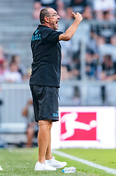 02.08.2017, Allianz Arena, Muenchen, GER, Audi Cup, FC Bayern Muenchen vs SSC Neapel, Spiel um Platz 3, im Bild Trainer Maurizio Sarri (SSC Napoli) // during the Audi Cup 3rd place Match between FC Bayern Munich and SSC Napoli at the Allianz Arena, Munich, Germany on 2017/08/02. EXPA Pictures © 2017, PhotoCredit: EXPA/ JFK
