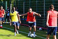 Jamel Saihi / Bryan Dabo  - 30.06.2015 - Reprise de Montpellier - 2015/2016<br />Photo : Alexandre Dimou / Icon Sport