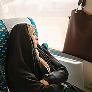 In the train from Tehran, capital of Iran, to the holy city of Mashhad (8 hours).<br /> <br /> Travelling over 4000km by train across Iran. An opportunity to enjoy Persian hospitality, discover Iran's ancient cities and its varied landscapes, from deserts to mountains.