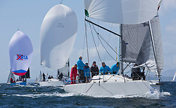 Pelle P Kip Regatta 2017 run by Royal Western Yacht Club at Kip Marina on the Clyde. <br /> <br /> RC35 Fleet  with GBR9470R, Banshee, Charlie Frize, CCC, Corby 33<br /> Image Credit Marc Turner