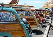 Woodies on the Wharf, Santa Cruz, California