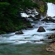 Waterfall in Parque Nacional Las Glacieras