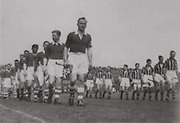 Christy Ring leads Cork in the Parade before the 1946 All-Ireland final.