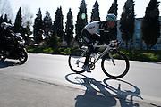 LeoPard Trek in Italy for Tirreno Adriatico stage race, 2011.