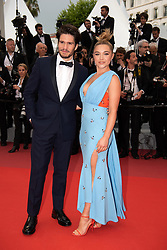 Florence Pugh and Francois Civil attend the screening of La Belle Epoque during the 72nd annual Cannes Film Festival on May 20, 2019 in Cannes, France<br /> Photo by David Niviere/ABACAPRESS.COM