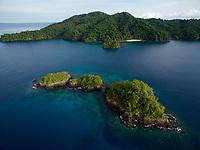 Canales de Afuera Islands,<br />Coiba National Park<br />Panama