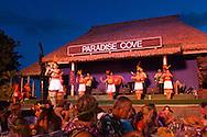 Hula Dancers at Paradise Cove Luau, Kapolei, Oahu, Hawaii