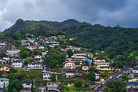 Residences near Punchbowl Crater