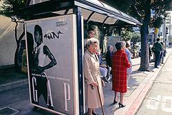 Gap Display At Bus Stop