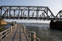 Amtrak Bridge over the Connecticut River, Old Lyme, CT.