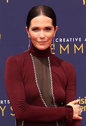 2018 Creative Arts Emmy Awards - Los Angeles. 09 Sep 2018 Pictured: Katie Aselton. Photo credit: Jaxon / MEGA TheMegaAgency.com +1 888 505 6342