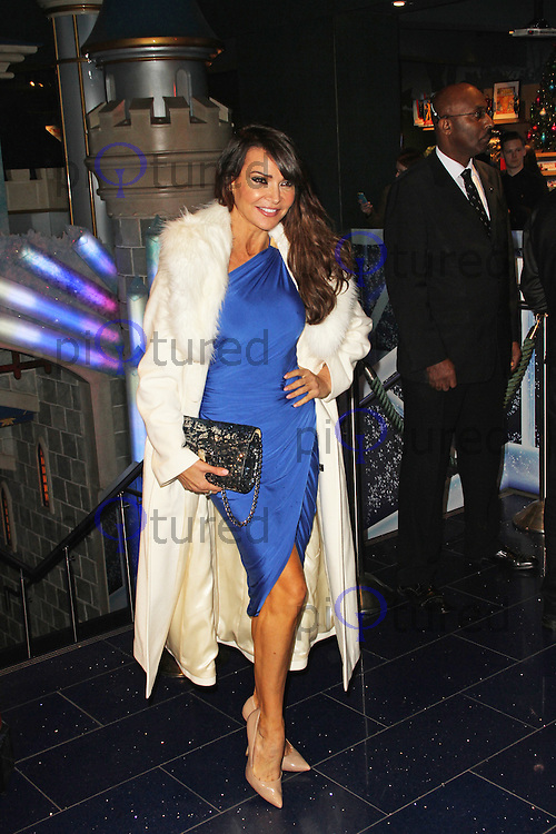 """Lizzie Cundy, Disney Store """"Share The Magic"""" Children's Charity Campaign, Disney Store Oxford Street, London UK, 04 November 2014, Photo By Brett D. Cove"""