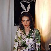 Playboyfeest 2003, Maria Dellas