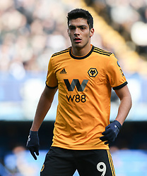 Raul Jimenez of Wolverhampton Wanderers - Mandatory by-line: Arron Gent/JMP - 10/03/2019 - FOOTBALL - Stamford Bridge - London, England - Chelsea v Wolverhampton Wanderers - Premier League