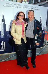 TERRY GILLIAM and MAGGIE WESTON at the English National Opera's 'On The Town' presented by SKY and Artsworld followed by a Tribute to Leonard Bernstein hosted by Jerry Hall at The London Coliseum, St.Martin's Lane, London WC2 on 11th May 2005.