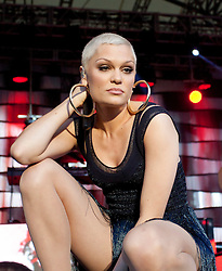 © Licensed to London News Pictures. 13/07/2013. St Austell, UK. Jessie J Performs at The Eden Project. Photo credit : Ashley Hugo/LNP