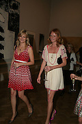 ALEXIA INGE AND OLIVIA INGE, Royal  Academy of  Arts summer exhibition opening night. Royal academy. Piccadilly. London. 6 June 2007.  -DO NOT ARCHIVE-© Copyright Photograph by Dafydd Jones. 248 Clapham Rd. London SW9 0PZ. Tel 0207 820 0771. www.dafjones.com.