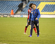 Paul Hurst of Shrewsbury Town during the Sky Bet League 1 match at The Den, London<br /> Picture by Richard Brooks/Focus Images Ltd 07947656233<br /> 10/12/2016