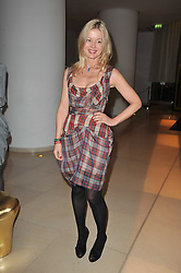LADY HELEN TAYLOR at a Burns Night dinner in aid of cancer charity CLIC Sargent held at St.Martin's Lane Hotel, London on 25th January 2011.