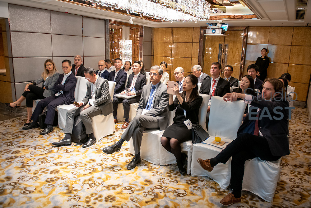 Breakout Session 1 - Impact of technology on treasury operations - Treasury 4.0 by KPMG during CTHK 2019 - Disruption on all fronts at Ritz-Carlton Hotel, in Hong Kong, China, on 13 November 2019. Photo by Lucas Schifres/Clique Visuals